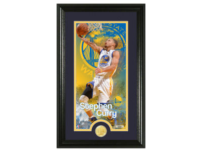 Golden State Warriors Steph Curry Supreme Bronze Coin Photo Mint