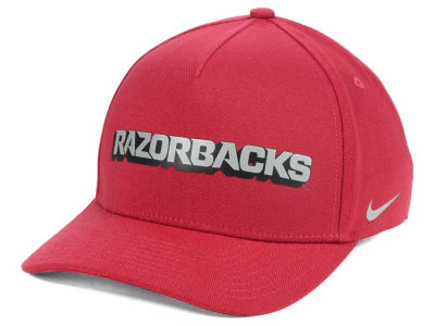 Arkansas Razorbacks Nike NCAA Local DNA Verbiage Swoosh Flex Cap