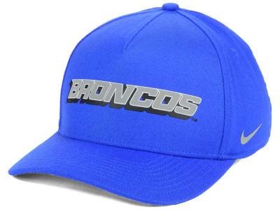 Boise State Broncos Nike NCAA Local DNA Verbiage Swoosh Flex Cap