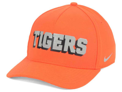 Clemson Tigers Nike NCAA Local DNA Verbiage Swoosh Flex Cap