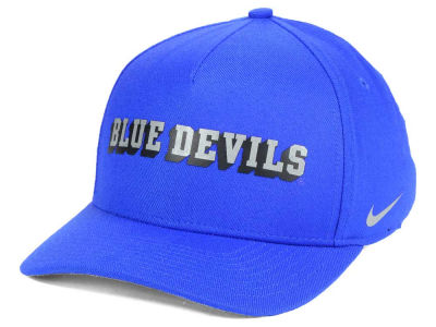 Duke Blue Devils Nike NCAA Local DNA Verbiage Swoosh Flex Cap