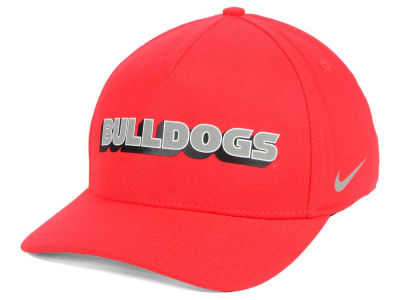 Georgia Bulldogs Nike NCAA Local DNA Verbiage Swoosh Flex Cap