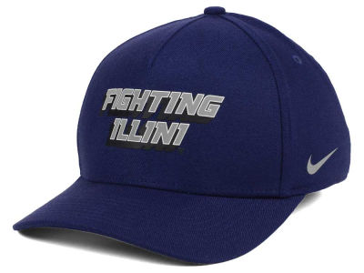 Illinois Fighting Illini Nike NCAA Local DNA Verbiage Swoosh Flex Cap