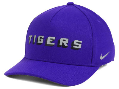 LSU Tigers Nike NCAA Local DNA Verbiage Swoosh Flex Cap
