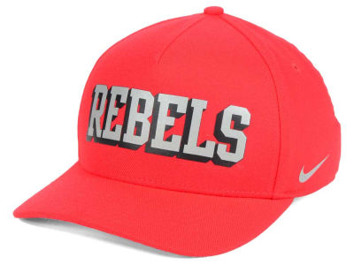 Ole Miss Rebels Nike NCAA Local DNA Verbiage Swoosh Flex Cap
