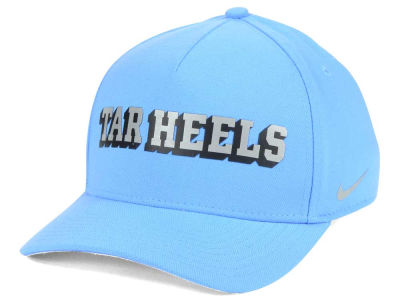 North Carolina Tar Heels Nike NCAA Local DNA Verbiage Swoosh Flex Cap