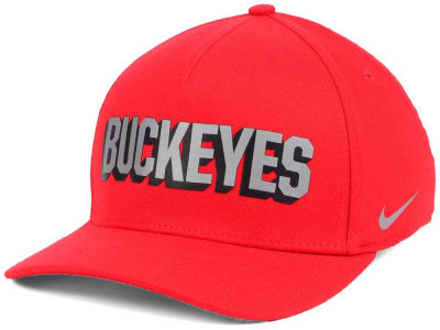 Ohio State Buckeyes Nike NCAA Local DNA Verbiage Swoosh Flex Cap
