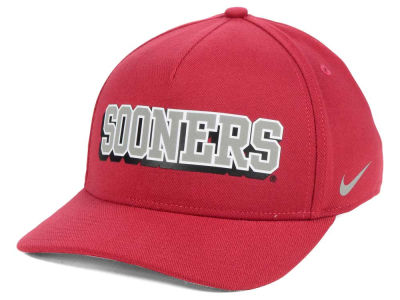 Oklahoma Sooners Nike NCAA Local DNA Verbiage Swoosh Flex Cap
