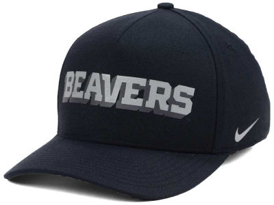 Oregon State Beavers Nike NCAA Local DNA Verbiage Swoosh Flex Cap