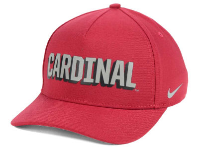 Stanford Cardinal Nike NCAA Local DNA Verbiage Swoosh Flex Cap