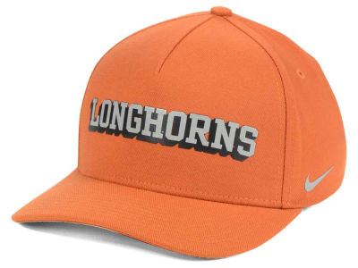 Texas Longhorns Nike NCAA Local DNA Verbiage Swoosh Flex Cap