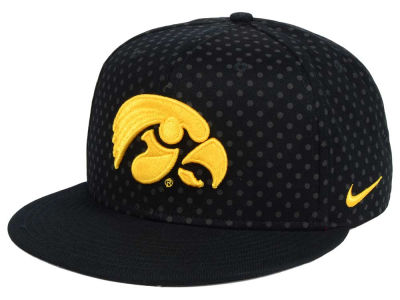 Iowa Hawkeyes Nike NCAA Local DNA Seasonal True Snapback Cap