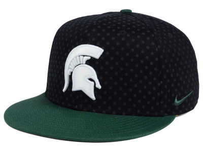 Michigan State Spartans Nike NCAA Local DNA Seasonal True Snapback Cap