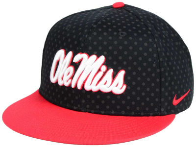 Ole Miss Rebels Nike NCAA Local DNA Seasonal True Snapback Cap