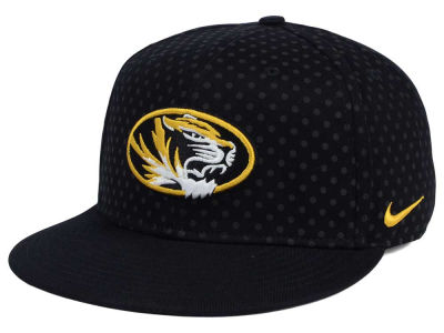 Missouri Tigers Nike NCAA Local DNA Seasonal True Snapback Cap