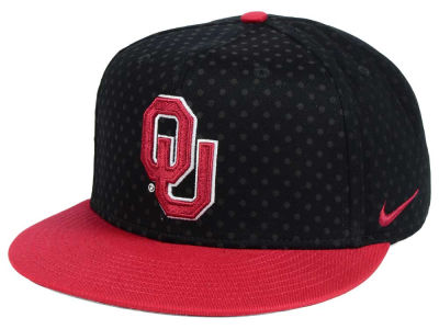 Oklahoma Sooners Nike NCAA Local DNA Seasonal True Snapback Cap