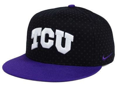 Texas Christian Horned Frogs Nike NCAA Local DNA Seasonal True Snapback Cap