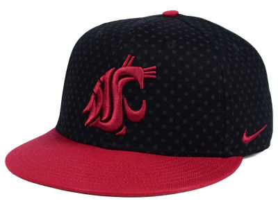 Washington State Cougars Nike NCAA Local DNA Seasonal True Snapback Cap