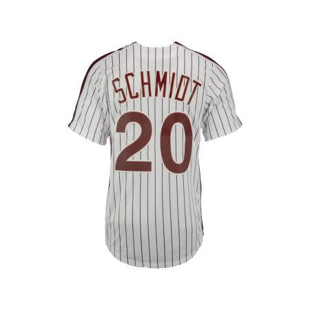 Philadelphia Phillies Mike Schmidt Majestic MLB Men's Cooperstown Player Replica CB Jersey