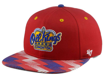 Edmonton Oil Kings '47 WHL Youth Nunchuk '47 CAPTAIN Snapback Cap
