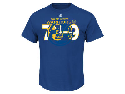 Golden State Warriors Majestic NBA Men's Record Roster T-Shirt