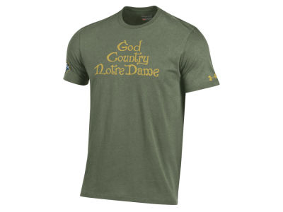 Notre Dame Fighting Irish Under Armour NCAA Men's Shamrock Series East Door T-Shirt