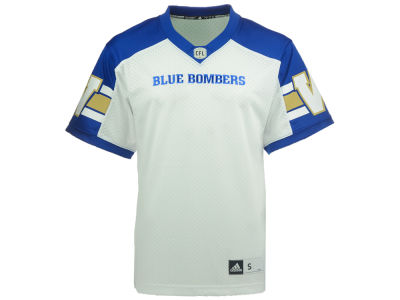 Winnipeg Blue Bombers adidas CFL Men's New Premier Jersey
