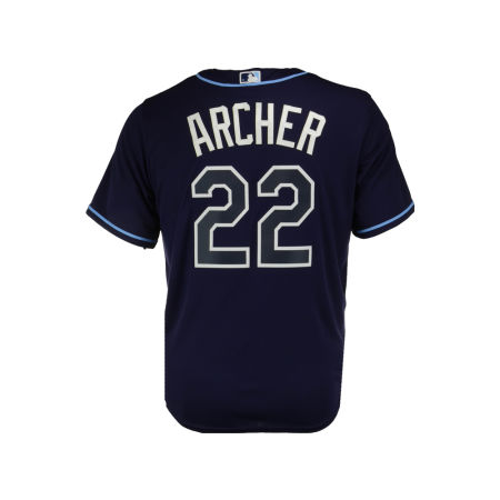 Tampa Bay Rays Chris Archer Majestic MLB Men's Player Replica Cool Base Jersey