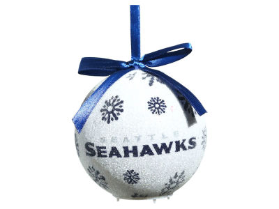 Seattle Seahawks Single Ball LED Ornament
