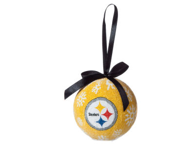 Pittsburgh Steelers Single Ball LED Ornament