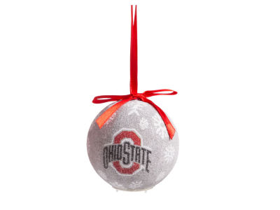 Ohio State Buckeyes Single Ball LED Ornament