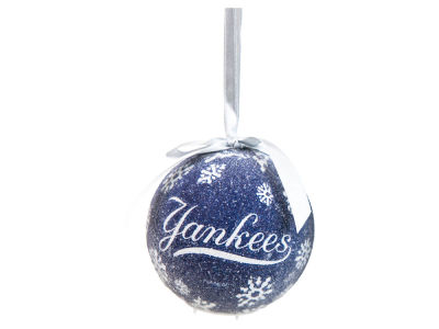 New York Yankees Single Ball LED Ornament