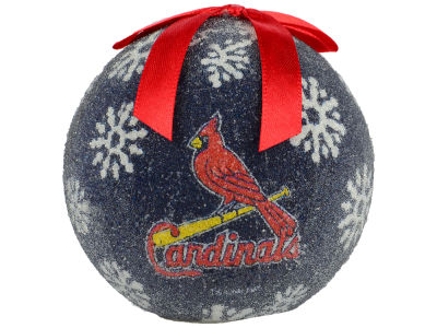 St. Louis Cardinals Single Ball LED Ornament
