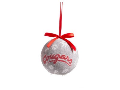 Washington State Cougars Single Ball LED Ornament