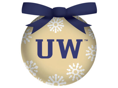 Washington Huskies Evergreen Enterprises Single Ball LED Ornament
