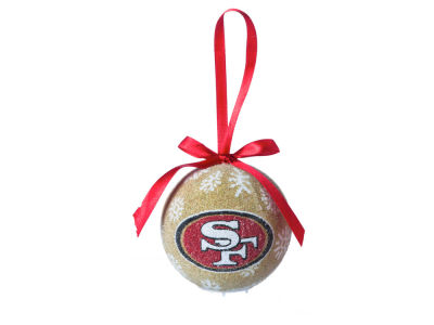 San Francisco 49ers Single Ball LED Ornament