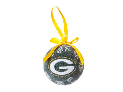 Green Bay Packers Single Ball LED Ornament
