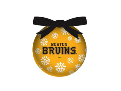 Boston Bruins Evergreen Enterprises Single Ball LED Ornament