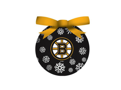 Boston Bruins Single Ball LED Ornament