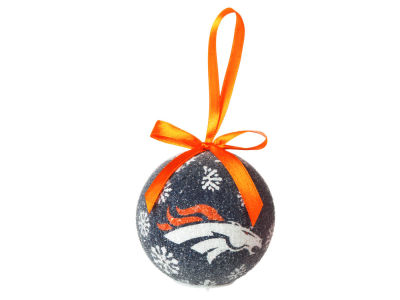 Denver Broncos Single Ball LED Ornament