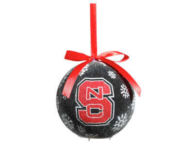North Carolina State Wolfpack Single Ball LED Ornament