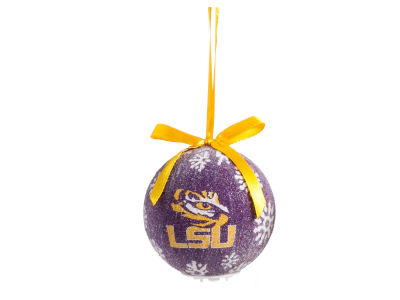 LSU Tigers Single Ball LED Ornament