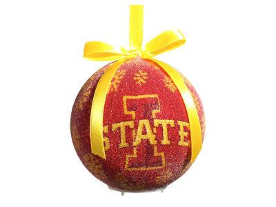 Iowa State Cyclones Single Ball LED Ornament