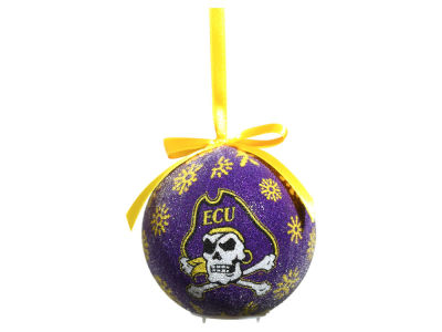 East Carolina Pirates Evergreen Enterprises Single Ball LED Ornament