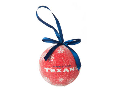 Houston Texans Single Ball LED Ornament