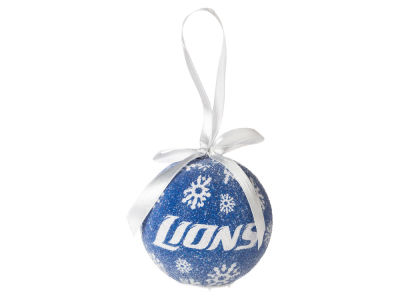 Detroit Lions Single Ball LED Ornament