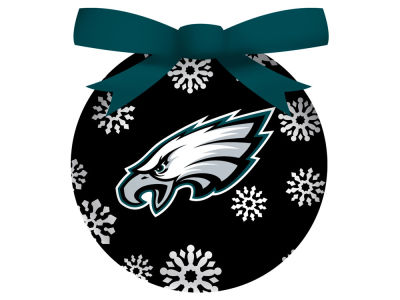 Philadelphia Eagles Single Ball LED Ornament