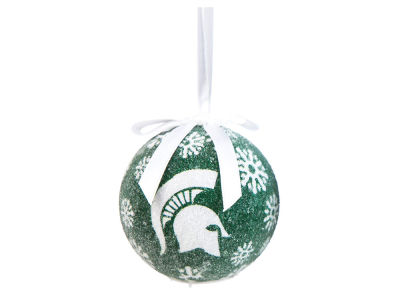 Michigan State Spartans Single Ball LED Ornament