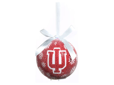 Indiana Hoosiers Single Ball LED Ornament