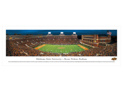 Oklahoma State Cowboys Panoramic Unframed